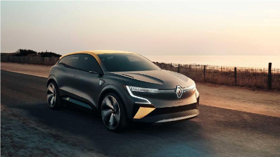 Elektrikli Megane: Renault Megane eVision Resmen Tanıtıldı!