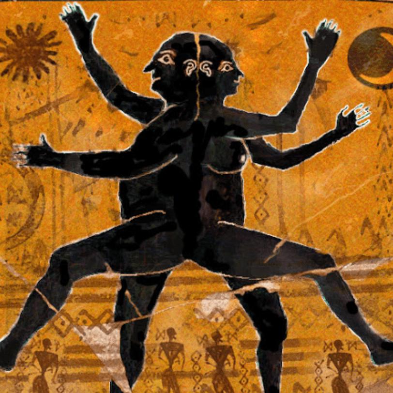 Androgynous denen bu türün adı gibi cinsiyeti de hem erkek hem kadındı. Bu insanlar yuvarlak sırtları ve göğüsleriyle tostoparlak bir şeydi. Her birinin dört eli ve bir o kadar da bacağı vardı.